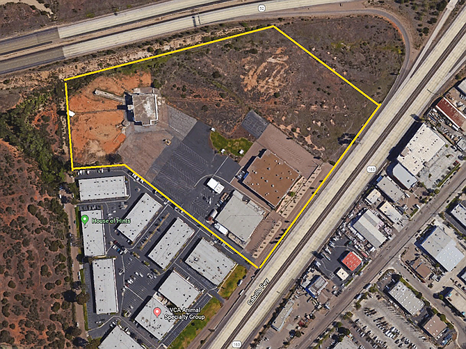 Cubic Corp. has sold a 21-acre property in Kearny Mesa. Photo courtesy of LPC West.