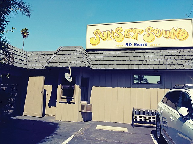 Diamond in the Rough: Van Halen, Tom Petty and Elton John have all recorded music at Sunset Sound.