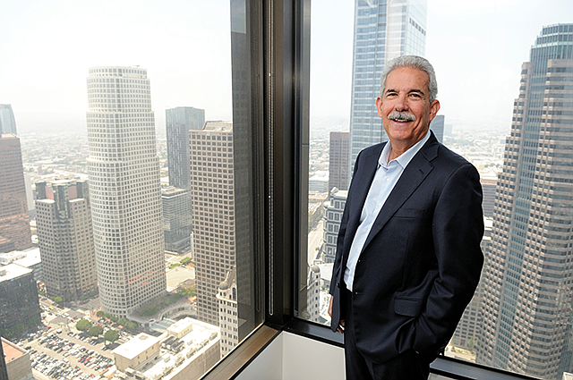New Perspective: Gil Dalmau, Umpqua's SoCal regional market leader, at the bank's downtown office.