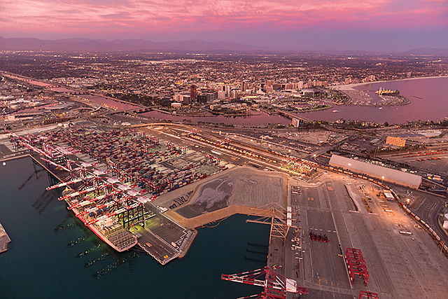 Commercial Hub: Freight shipping and logistics drive the SoCal economy.