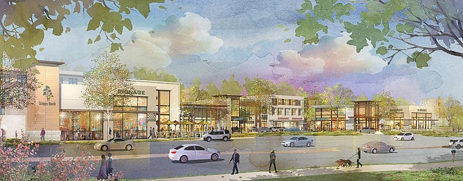 Sudberry Properties is building a mixed use project in Scripps Ranch that will include 260 apartments and 11,000 square feet of retail and restaurant space. Photo courtesy of Sudberry Properties.