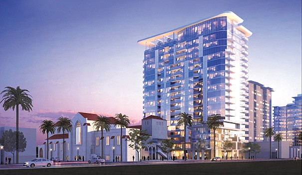 Unusual Mixed Use Brings Apartments To Condo Country San Diego