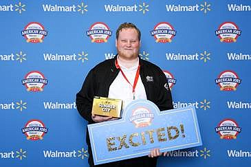 Brandon Sieminski, brewmaster at Iron Fist Brewing Co., said the company applied for Walmart's 6th annual Open Call event about six months ago. Photo courtesy of Walmart.