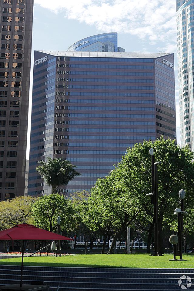 HQ: CBRE home base in downtown LA.