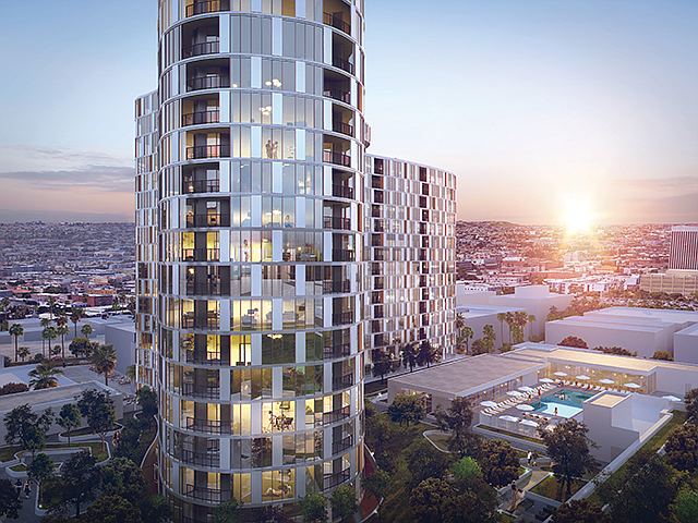 Going Up: Jamison recently broke ground on a project at 2900 Wilshire Blvd.