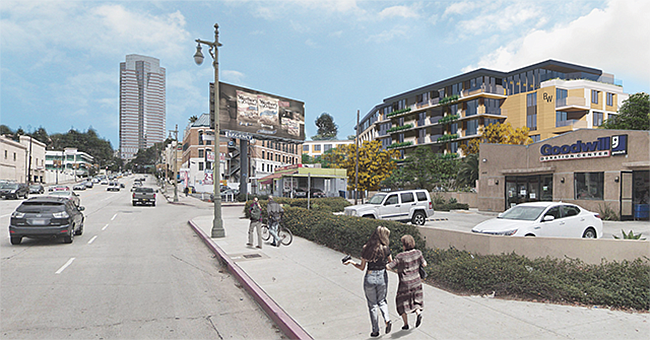 Urban Access: Construction is expected to start in 2021 on a Century City project.