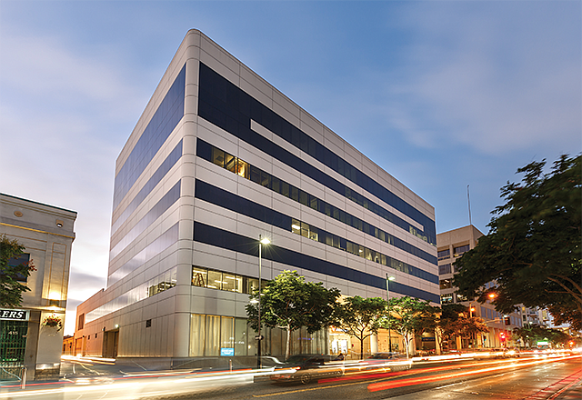 Clustering on the Westside: Knotel signed a lease at 429 Santa Monica Blvd. in February.