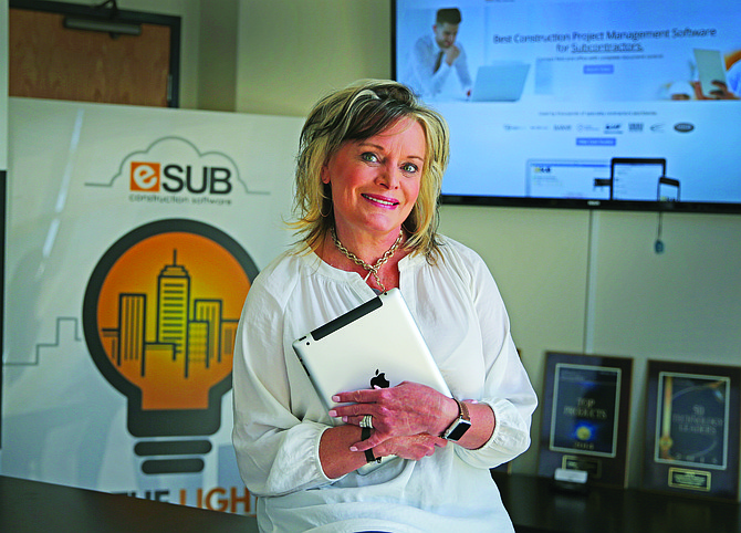 Wendy Rogers has grown her construction software startup, eSUB, into an 84-person company. After a recent funding round, she is building out eSUB's executive team, hiring the company's first chief technology officer. Photo courtesy of Jamie Scott Lytle.