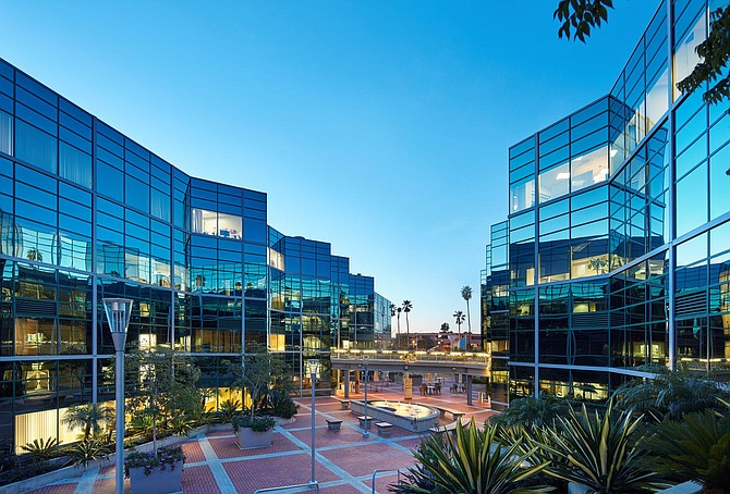 Genesee Plaza in UTC was recently acquired by JLL Income Property Trust for about $90 million. Photo courtesy of JLL Income Property Trust.