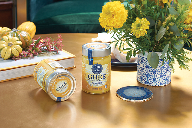 Oh Ghee: 4th & Heart products are available in 10,000 stores.