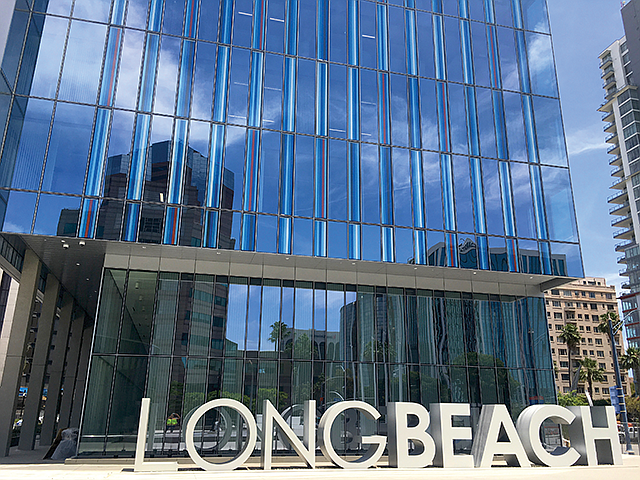 Civic Minded: New $428 million project will house Long Beach offices.