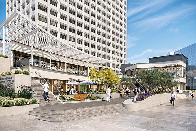 Upgraded Icon: Union Bank Plaza will undergo a $20 million renovation.