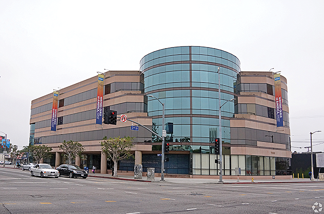 Real-Life Drama: Three of the big four talent agencies have filed antitrust lawsuits against the Writers Guild. The union's Los Angeles office is pictured.