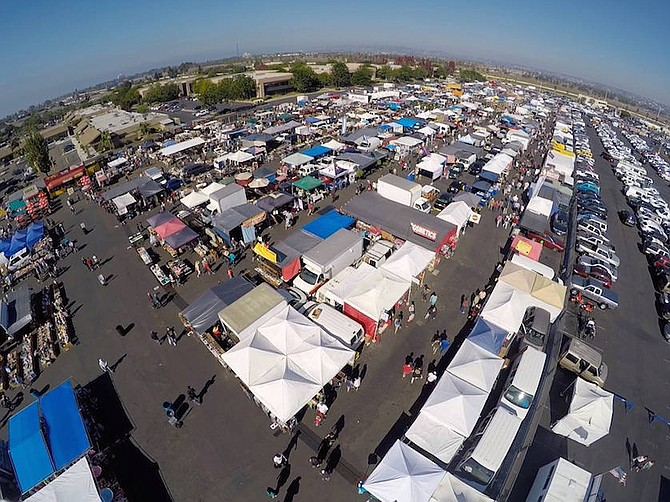 For the last two years, Kobey's Swap Meet, founded in 1976 and with 45 employees, has hosted a handful of themed events, including a car show, a vintage event and a sneaker expo. Photo courtesy of Kobey's Swap Meet.