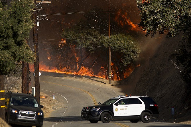 Hundreds of lawsuits have been filed against Southern California Edison seeking damages from the Woolsey Fire last fall.