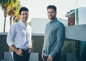 Fifth Wall Ventures co-founders and managing partners Brendan Wallace and Brad Greiwe.