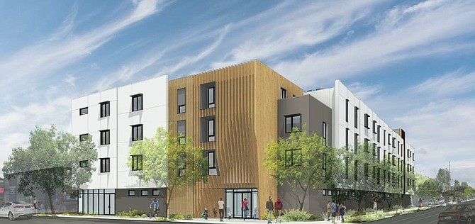 Rendering for Talisa Apartments.