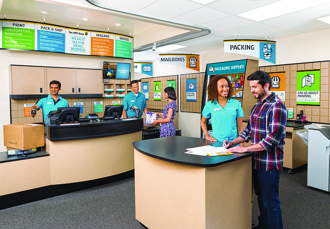 The UPS Store provides a variety of services. Photo courtesy of The UPS Store.