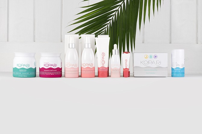 In 2017, Kopari Beauty began selling its products in Sephora, follwed by Ulta Beauty, Nordstrom, Urban Outfitters, Riley Rose, Bloomingdale's and Anthropologie, among others. Photo courtesy of Kopari Beauty.