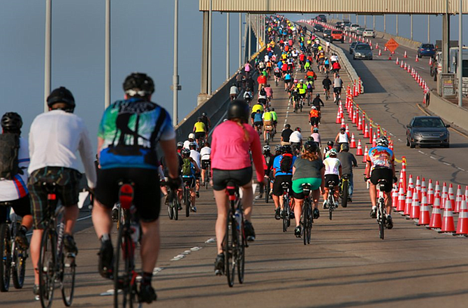According to the San Diego County Bicycle Coalition, Bike the Bay brings close to 10% of its riders from Arizona. Photos courtesy of San Diego County Bicycle Coalition.