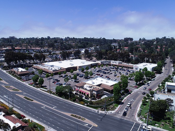 The Encinitas Marketplace was sold for $43 million. Photo courtesy of Colliers International.