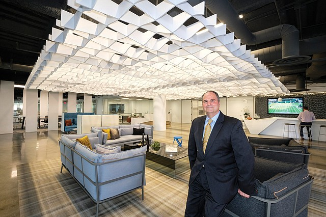 Innovation Lab: Tom Ricci says Coretrust's model office draws tenants.