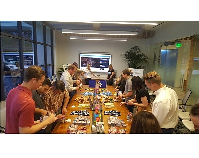Voit employees assemble 'JoyJars' for charity