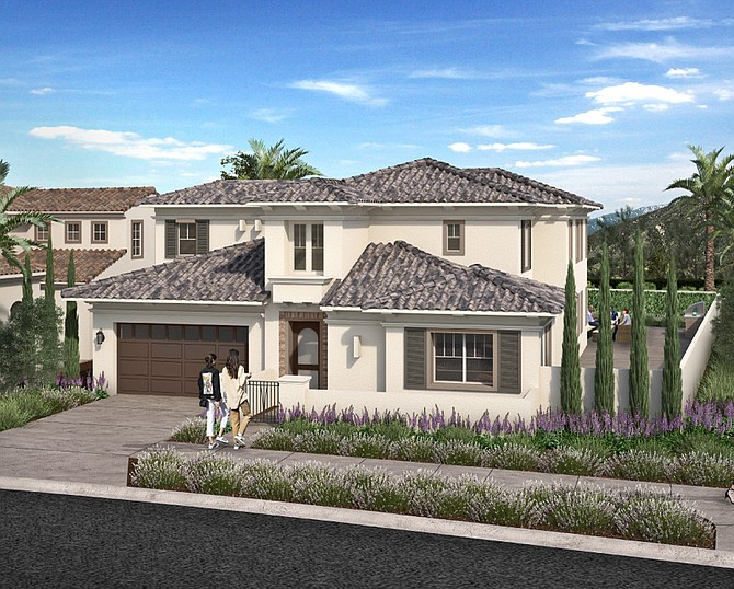 Cornerstone Communities is building a residential community in Otay Ranch with room for large families. Photo courtesy of the Greater San Diego County Association of Realtors.
