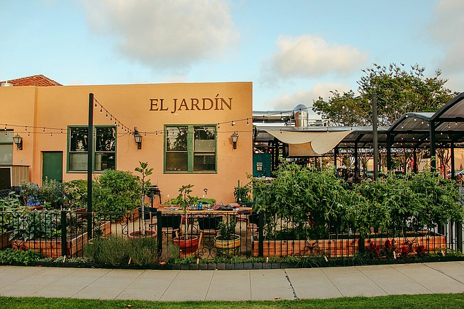 In May, El Jardin was chosen as one of eight locations in San Diego included in the 151 affordable restaurants in California for Michelin's Bib Gourmand eateries list. Photo courtesy of Rise & Shine Hospitality Group.