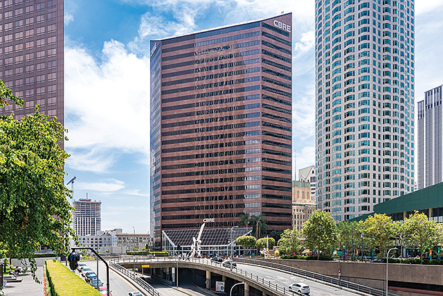 Bright Spot: CBRE Group's leasing unit reported double-digit revenue growth.