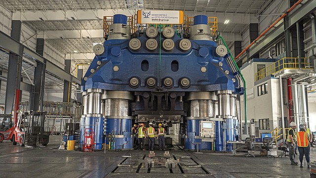 Grounded: Weber Metals makes landing gear and other parts for Boeing's 737 Max.