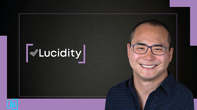 Lucidity Chief Executive Sam Kim.