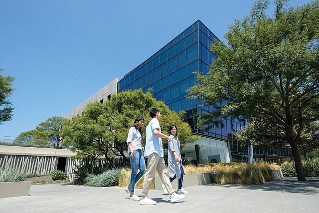 Startup Site: The Campus at Playa Vista is home to many technology companies.