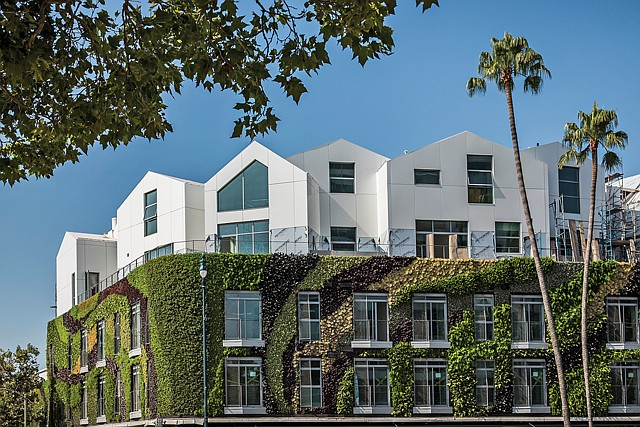 Natural Fit: Gardenhouse will feature the largest  living wall in the country.