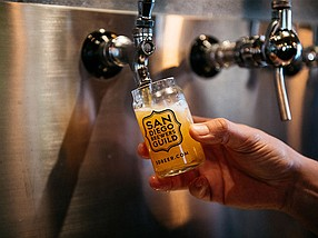 The third annual report on the economic impact of independent craft brewers was provided in partnership with the San Diego Brewers Guild.