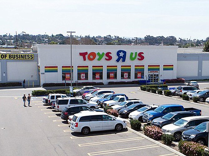 A former Toys R Us store in National City is among the big box stores attracting new tenants.