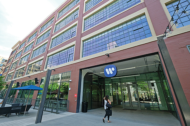 Tuned Up: Warner Music Group moved into a former Arts District factory.