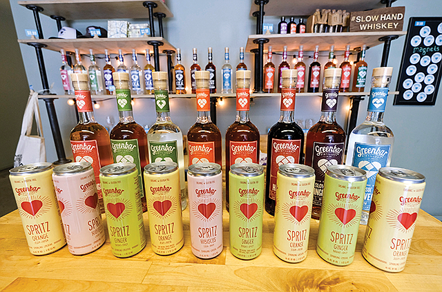 Line Items: Greenbar Distillery's spritzes are outselling its liquors.