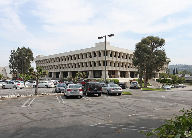 Former Sunkist headquarters building at 14130 Riverside Drive in Sherman Oaks.