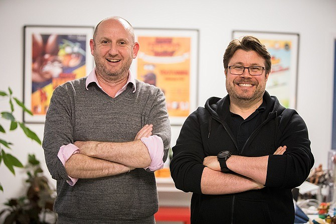 Seriously Digital co-founders Andrew Stalbow and Petri Järvilehto.