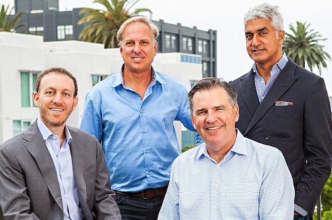 The March Capital Partners founding team.