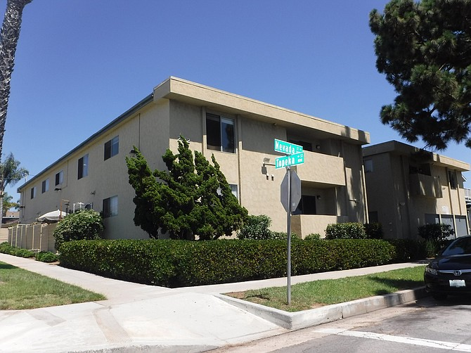 Apartment complexes like this one in Oceanside are in high demand from investors. Photo courtesy of Marcus & Millichap.