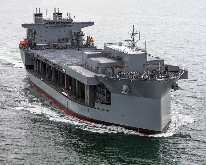 General Dynamics NASSCO will be building, at least, two auxiliary ships for the Navy. Photo courtesy of General Dynamics NASSCO.