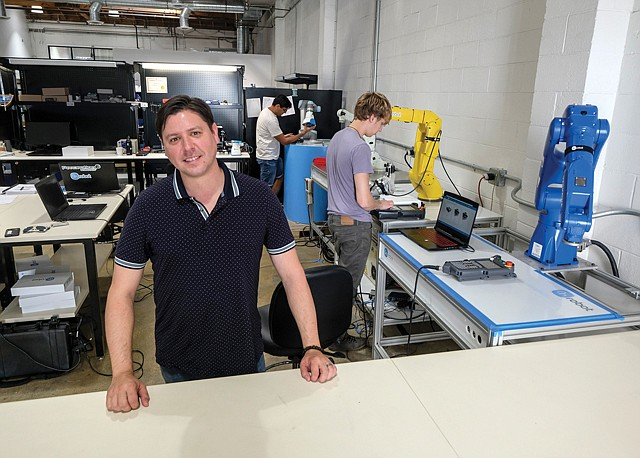 Get a Grip: Nicholas Wettels sees many uses for OnRobot's technology.