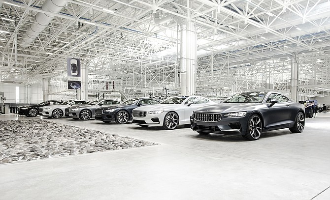 The growth of the electric vehicle segment and the San Diego lifestyle drew Polestar Automotive to the region. Photo courtesy of Polestar Automotive USA.