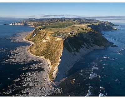 Rocket Lab launch site in New Zealand