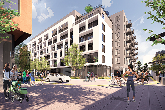 Lot Full: Developers are rethinking the utility of parking structures.