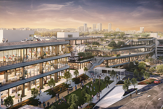 Taking Over: Google holds a lease for the Westside Pavilion development.