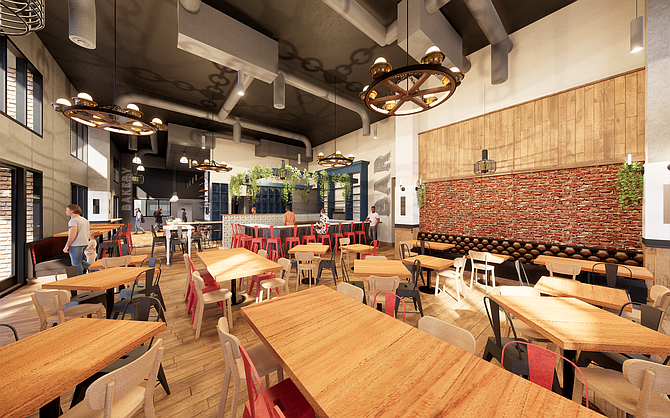 "Trust Restaurant Group will reimagine its Hundred Proof Cocktail Bar into Rare Society, a ""retro, mid-century"" steakhouse, slated to open November 2019. Photo courtesy of Trust Restaurant Group."