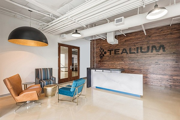 Tealium has more than 200 employees at its offices in Torrey Pines. Photo courtesy of Tealium.